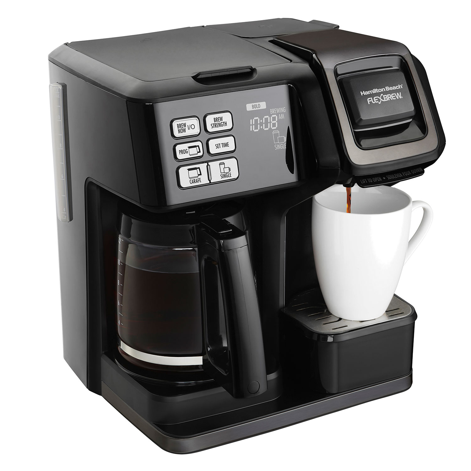 FlexBrew® 2-Way Coffee Maker (Black Stainless) (49958)