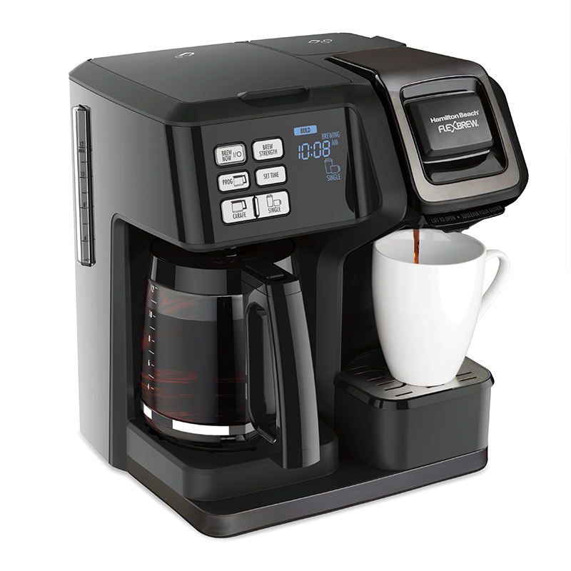 FlexBrew® Trio Coffee Maker, Black Stainless (49958)