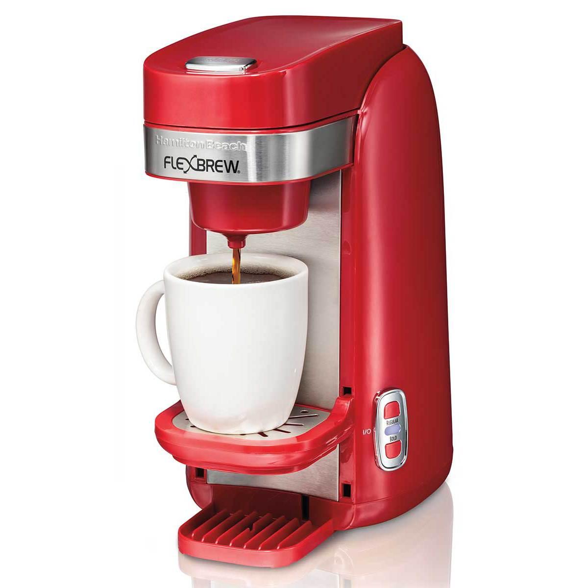 FlexBrew® Single-Serve Coffee Maker, Red (49960)
