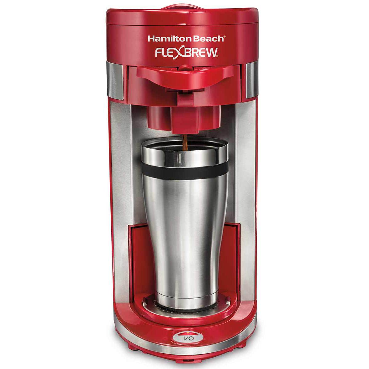 FlexBrew® Single-Serve Coffee Maker - Red (49962)