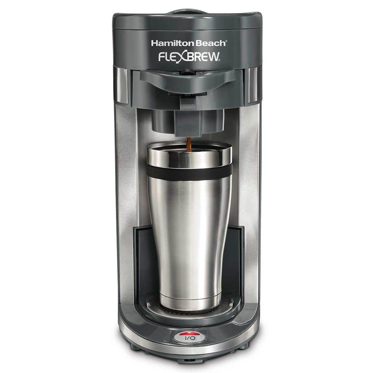 FlexBrew® Single-Serve Coffee Maker - Gray (49963)