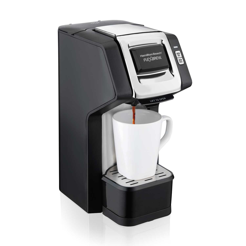 FlexBrew® Single-Serve Plus Coffee Maker, Black & Silver (49979)