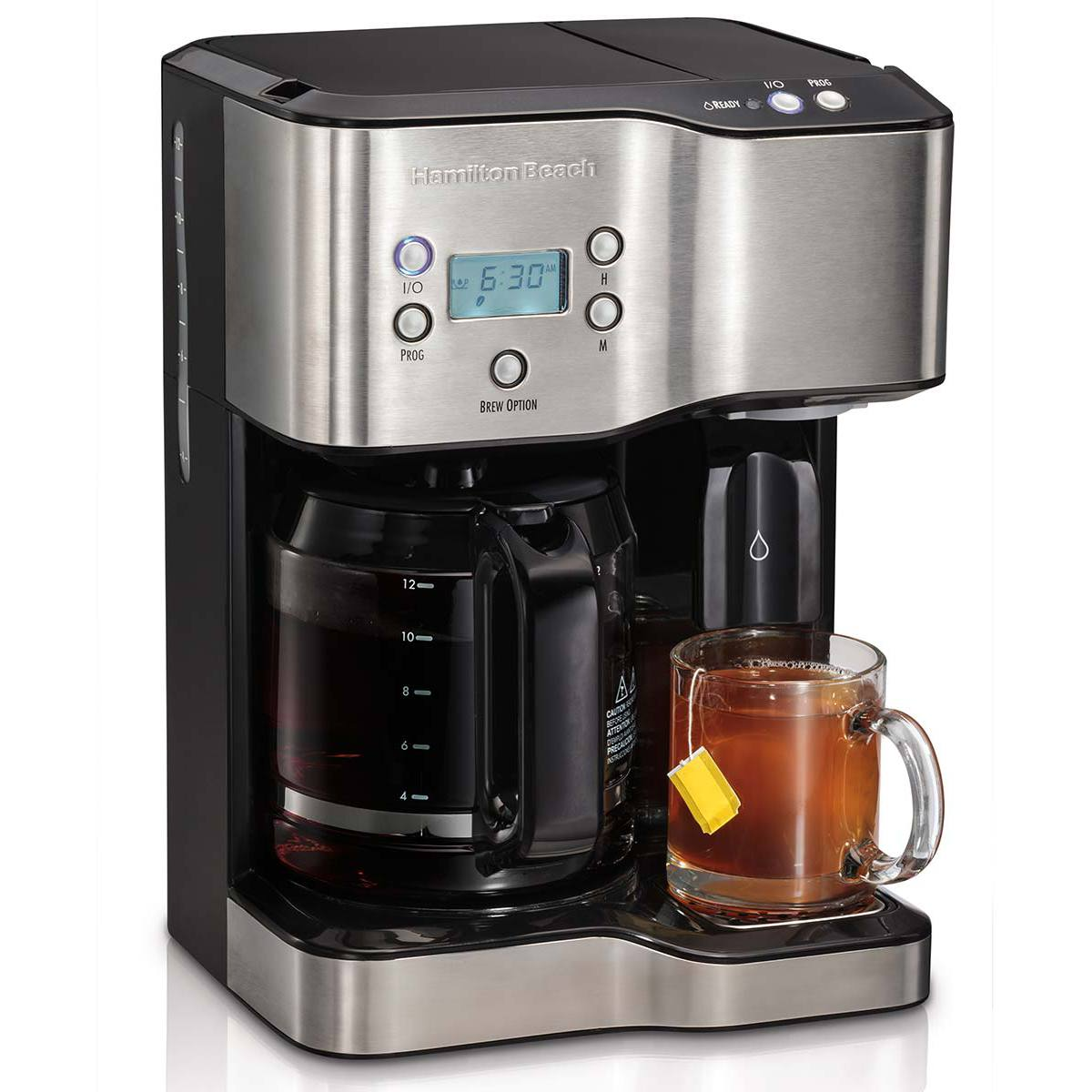 Hamilton Beach 12 Cup Coffee Maker Amp Hot Water Dispenser