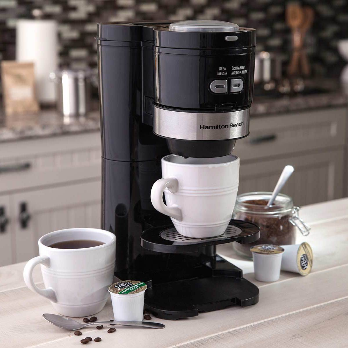 Grind and Brew Single-Serve Coffee Maker (49989)