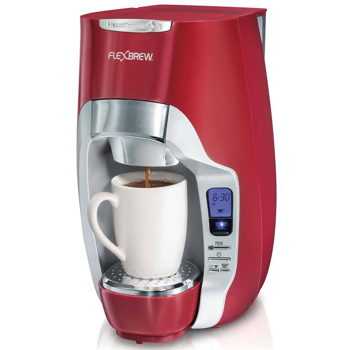 Coffee Makers Product ~ Flexbrew programmable single serve coffee maker