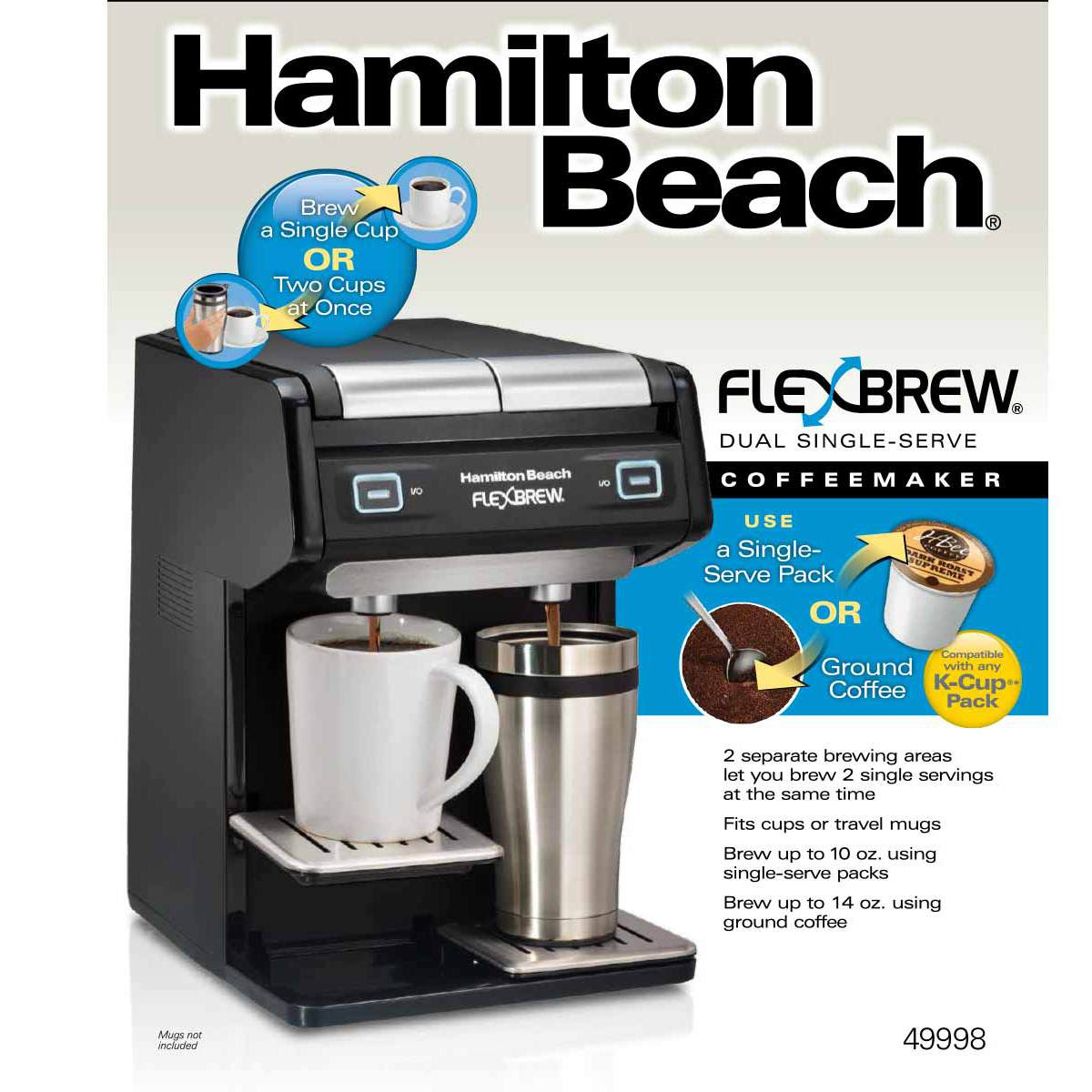 FlexBrew® Dual Single-Serve Coffee Maker (49998)