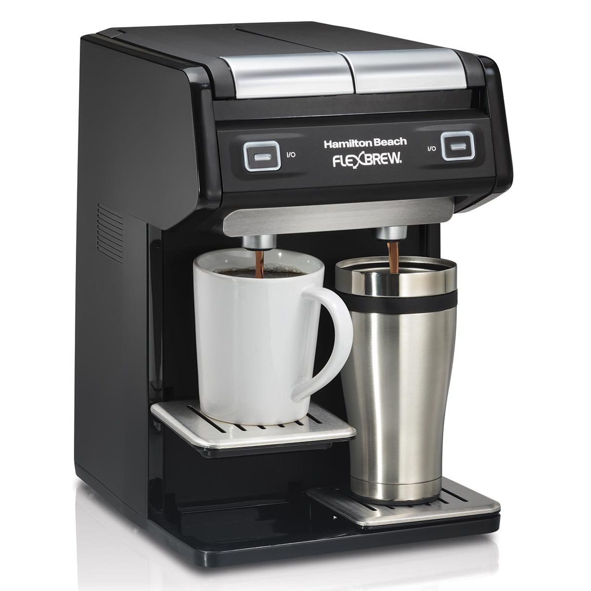 49998 Dual Coffee Maker K Cup Coffee Consumers Dual Coffee Maker Black