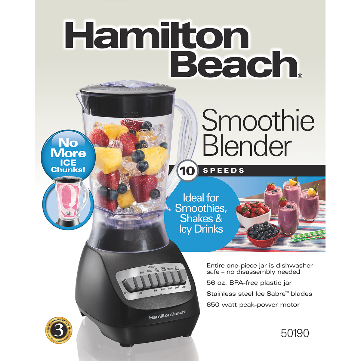 Smoothie Blender (50190)