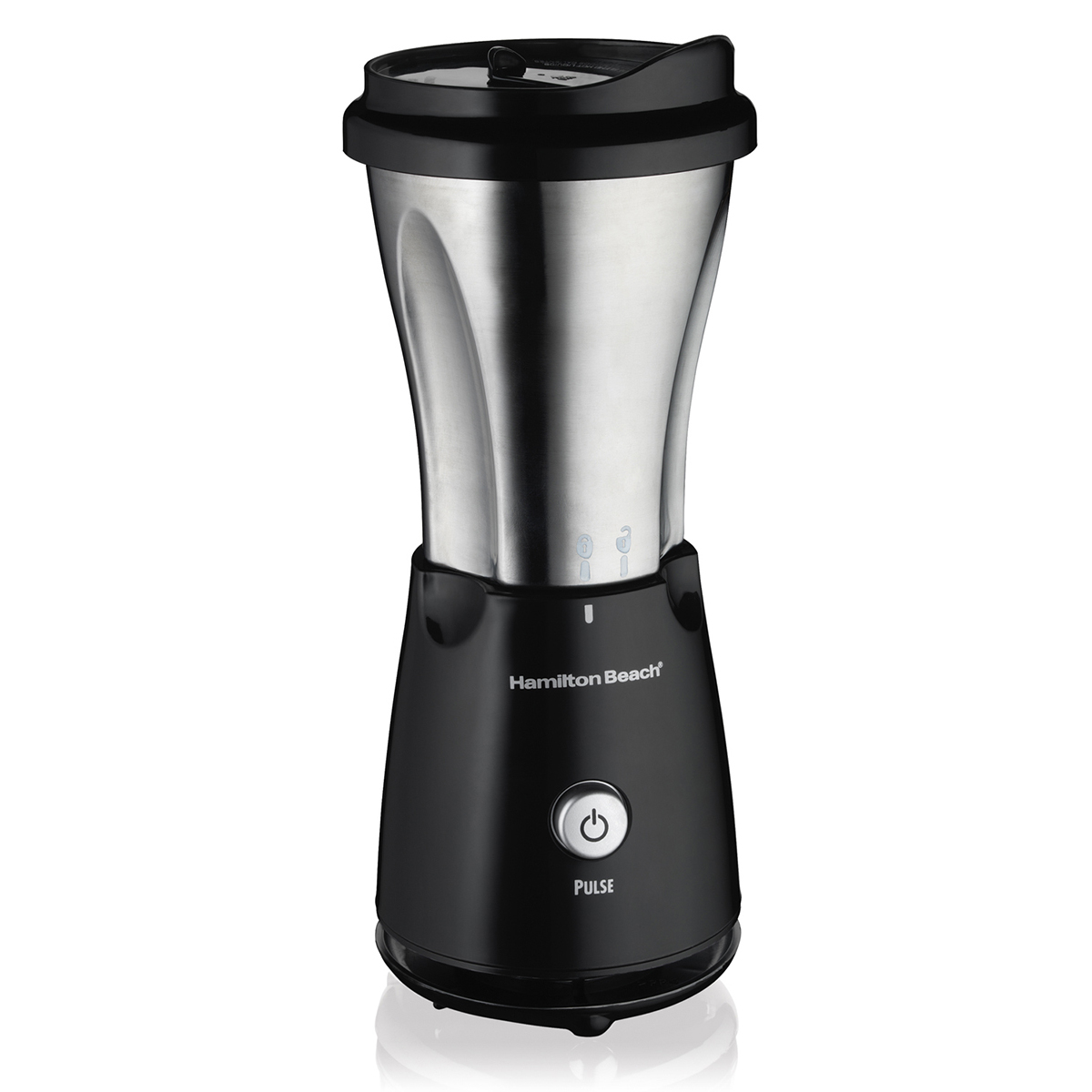 Stainless Single-Serve Blender with Travel Lid (51108)