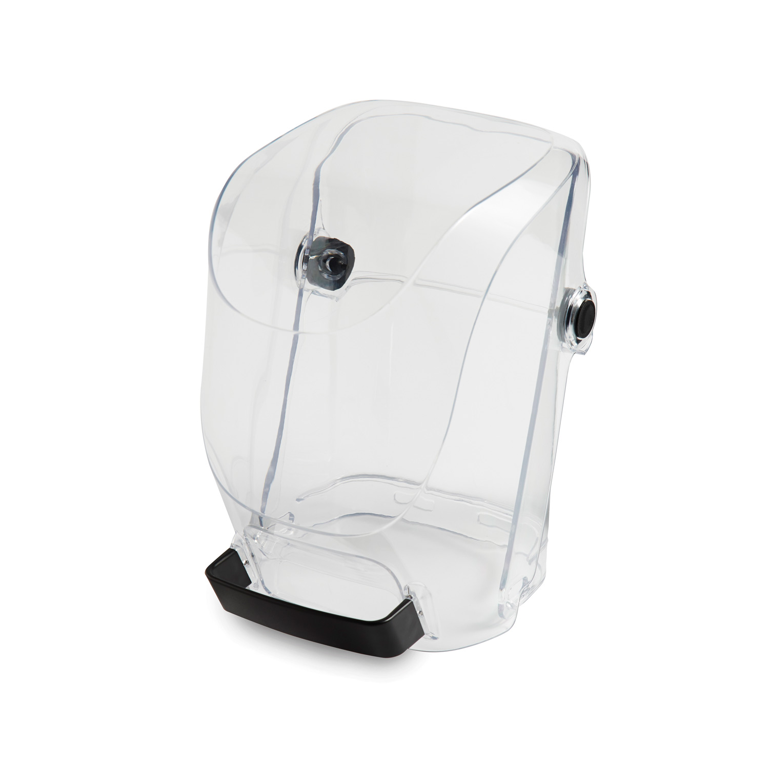 53602 Sound Shield 950 with two-piece sound shield that is hinged for easy access to the blender and removes for cleaning.