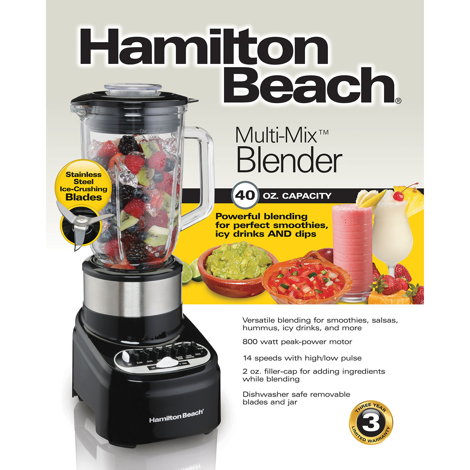 Multi-Mix™ 40 oz. Blender (54210)