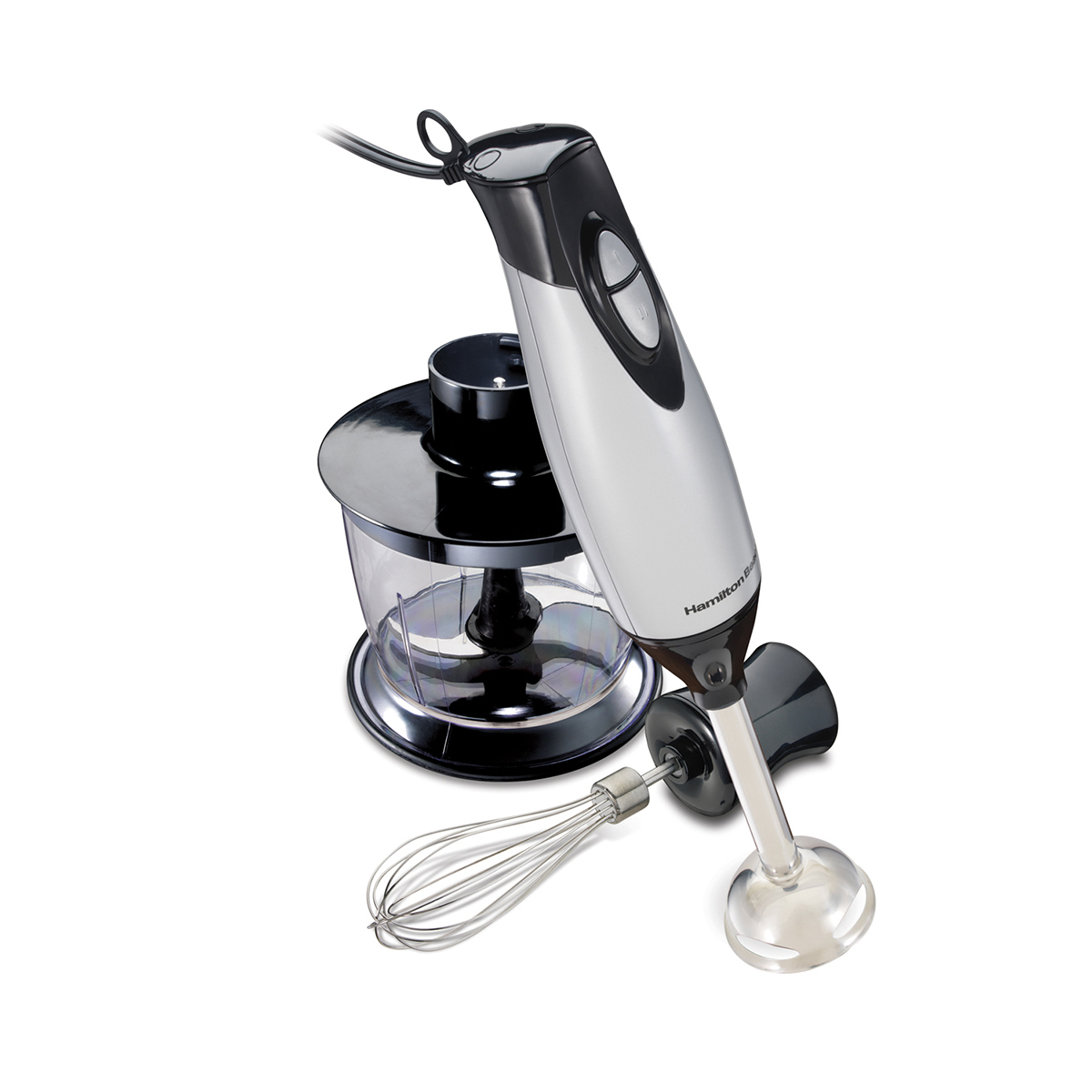 2 Speed Hand Blender with whisk and chopping bowl (59765)