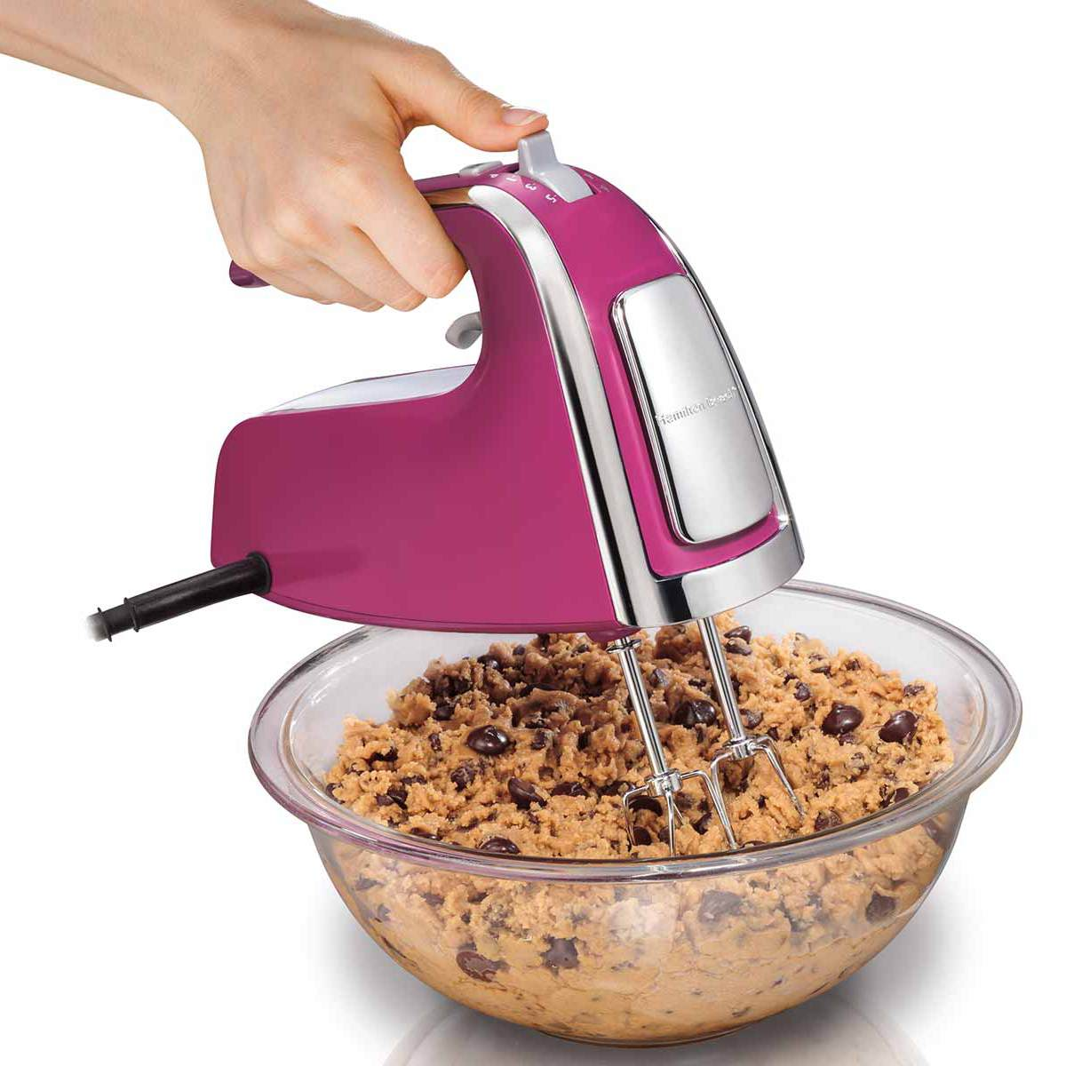 6 Speed Hand Mixer with Pulse and Snap-On Case (62621)