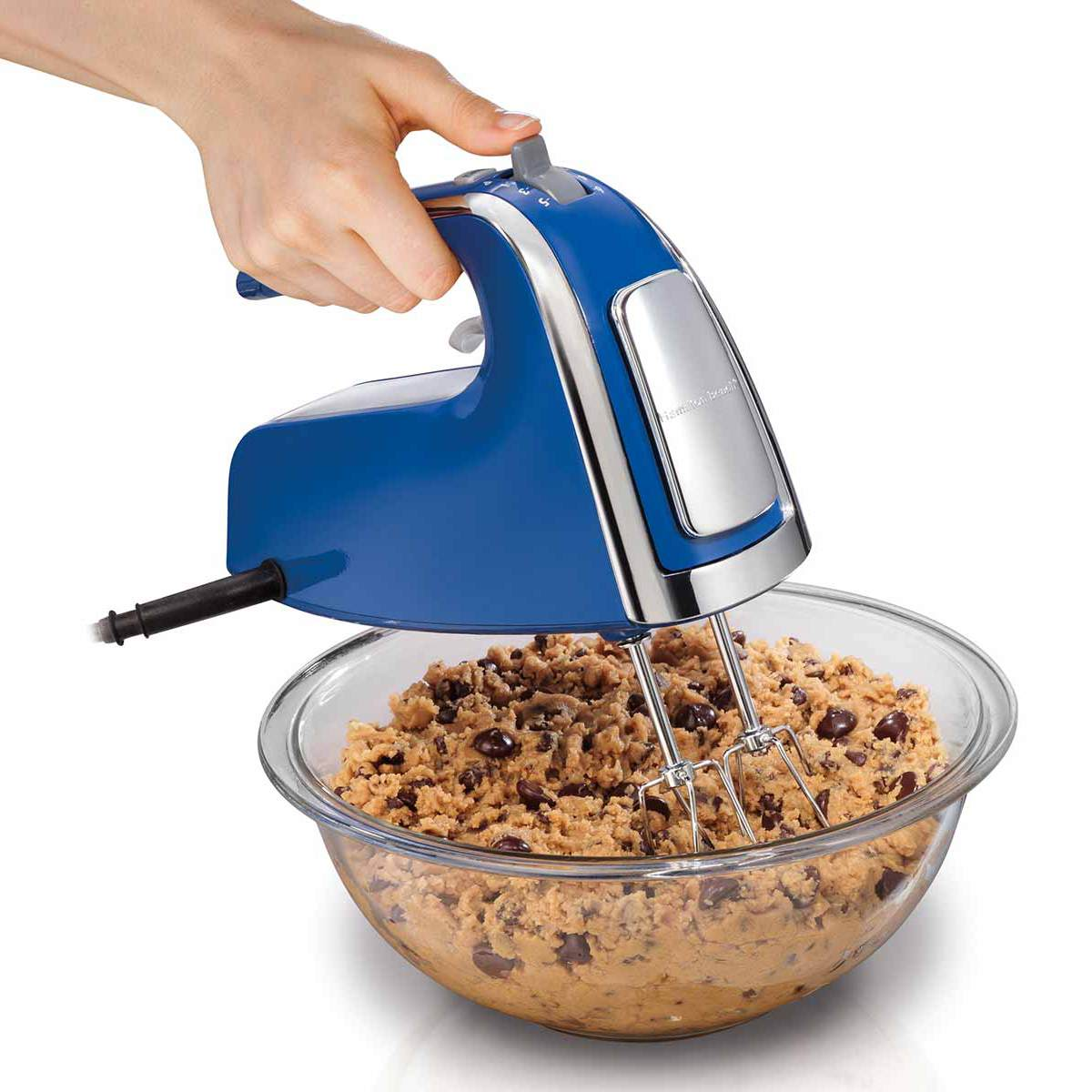 6 Speed Hand Mixer with Pulse and Snap-On Case (62622)