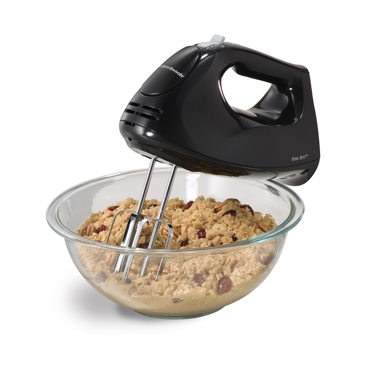 Hand Mixer with Snap-On Case - black (62630)
