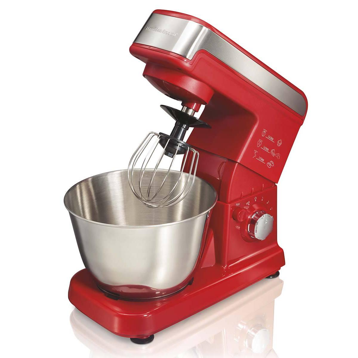 Hamilton Beach 6 Speed Stand Mixer 63324 Red