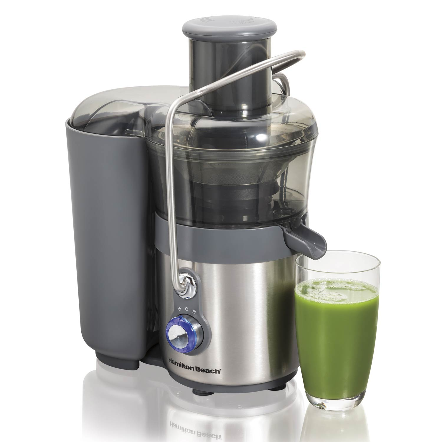 Big Mouth Premium Juicer with 2 Speeds is great for making nutrient-rich green juices.