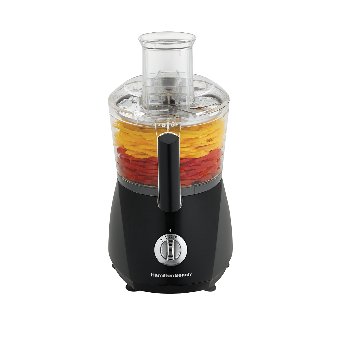 10-Cup ChefPrep™ Food Processor with Extra Crinkle Cut, Fine Shred Blade, Black (70670)