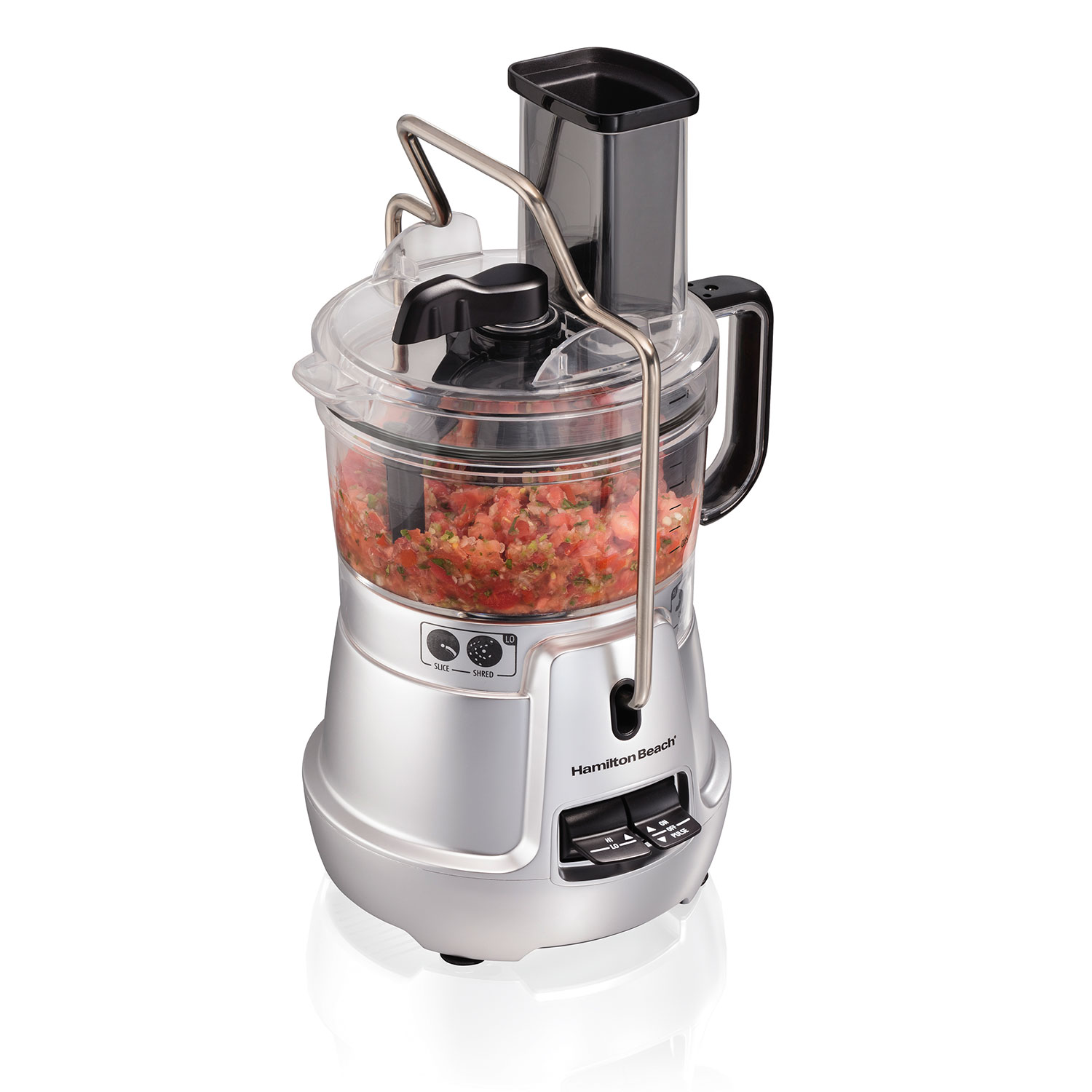 8-Cup Stack & Snap™ Food Processor with Bowl Scraper & Adjustable Slicing (70820)