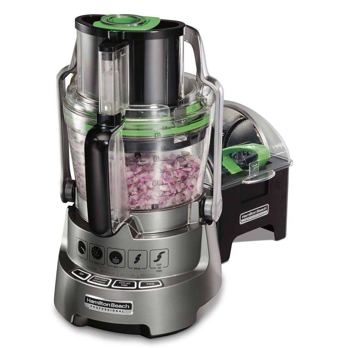 14-Cup Hamilton Beach® Professional Food Processor with Big Mouth®, Dicing Capability (70825)