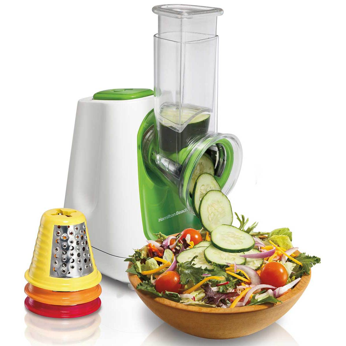 SaladXpress™ Food Processor with 4 Cones (70950)