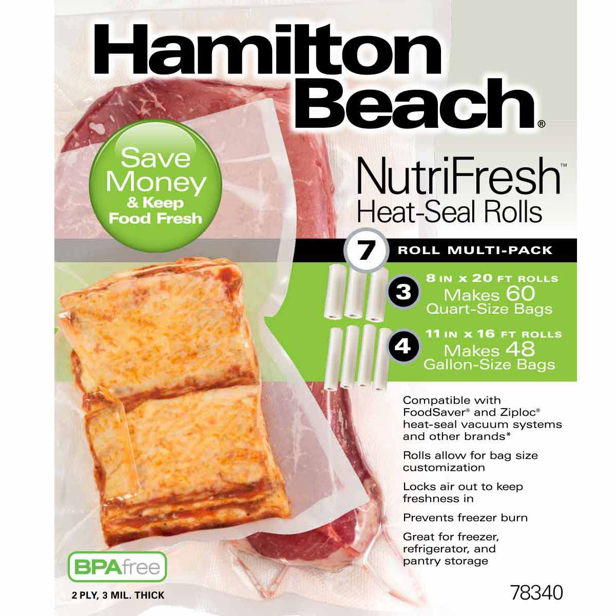 NutriFresh™ Heat-Seal 7 Roll Multi-Pack (78340)