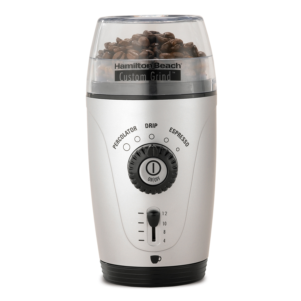 Custom Grind™ Hands-Free 12 Cup Coffee Grinder (80365)