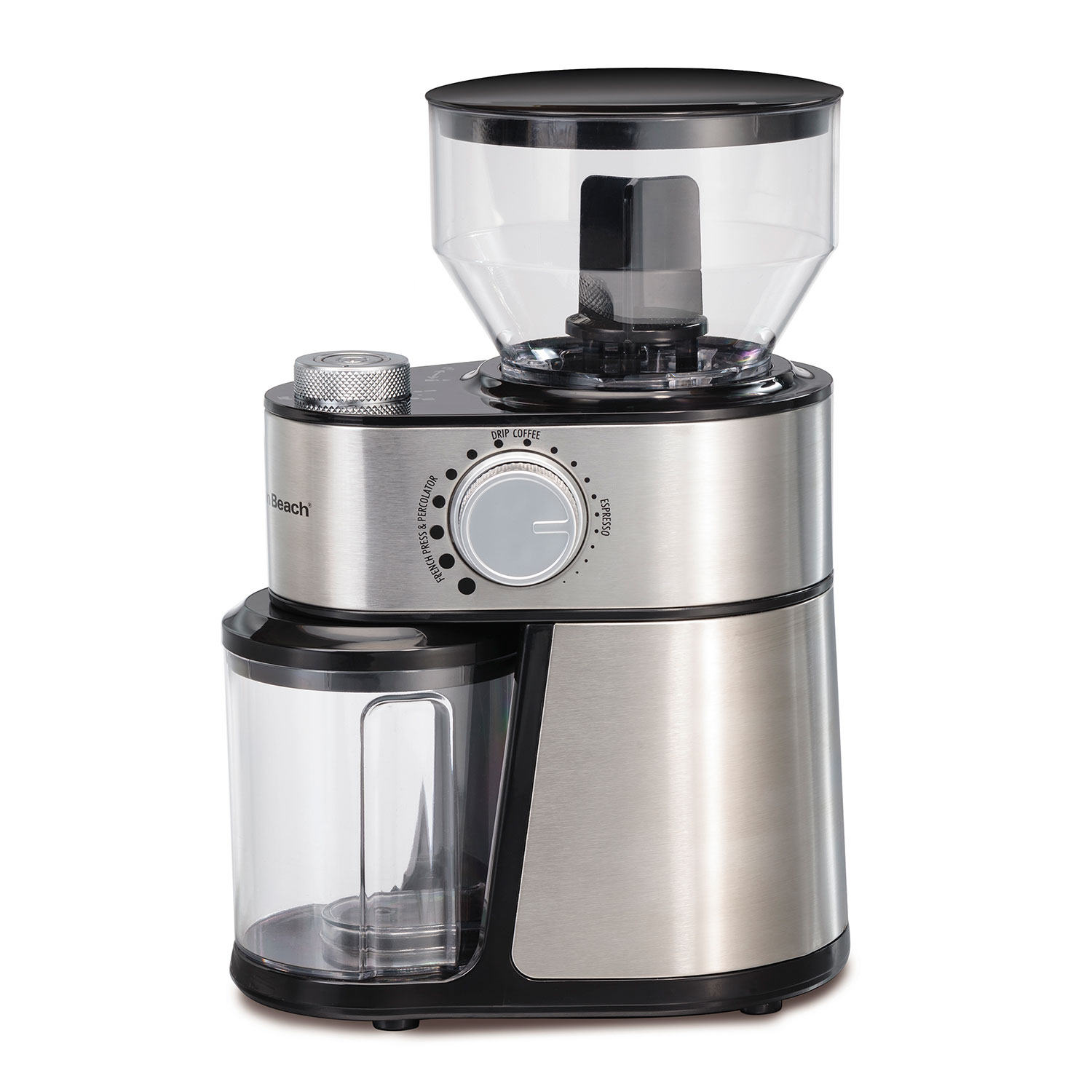 2-14 Cup Burr Coffee Grinder with 18 Grind Settings (80382)