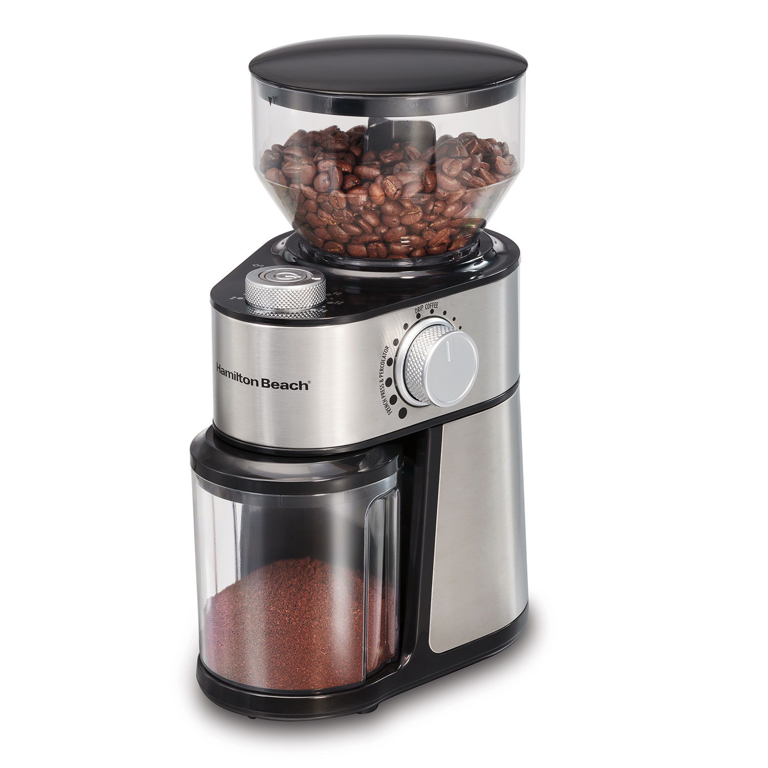 2-14 Cup Burr Coffee Grinder with 18 Grind Settings (80385)