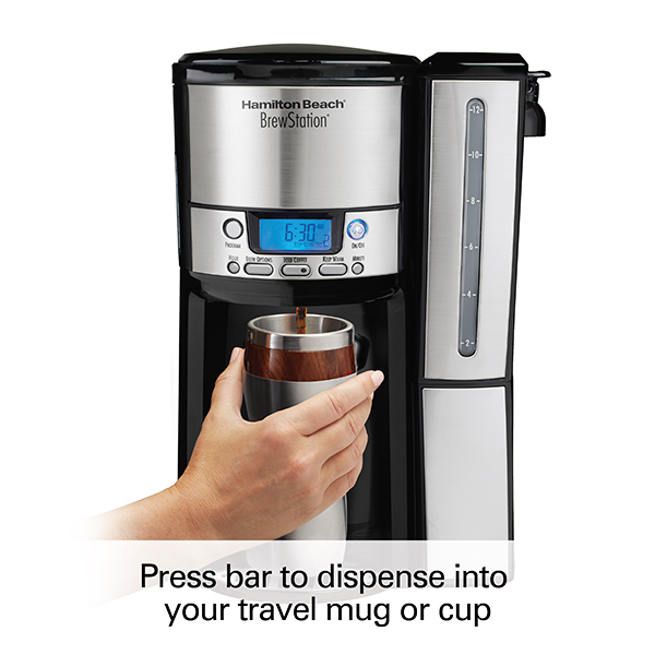BrewStation® 12 Cup Dispensing Coffee Maker w/ Removable Reservoir (47950)