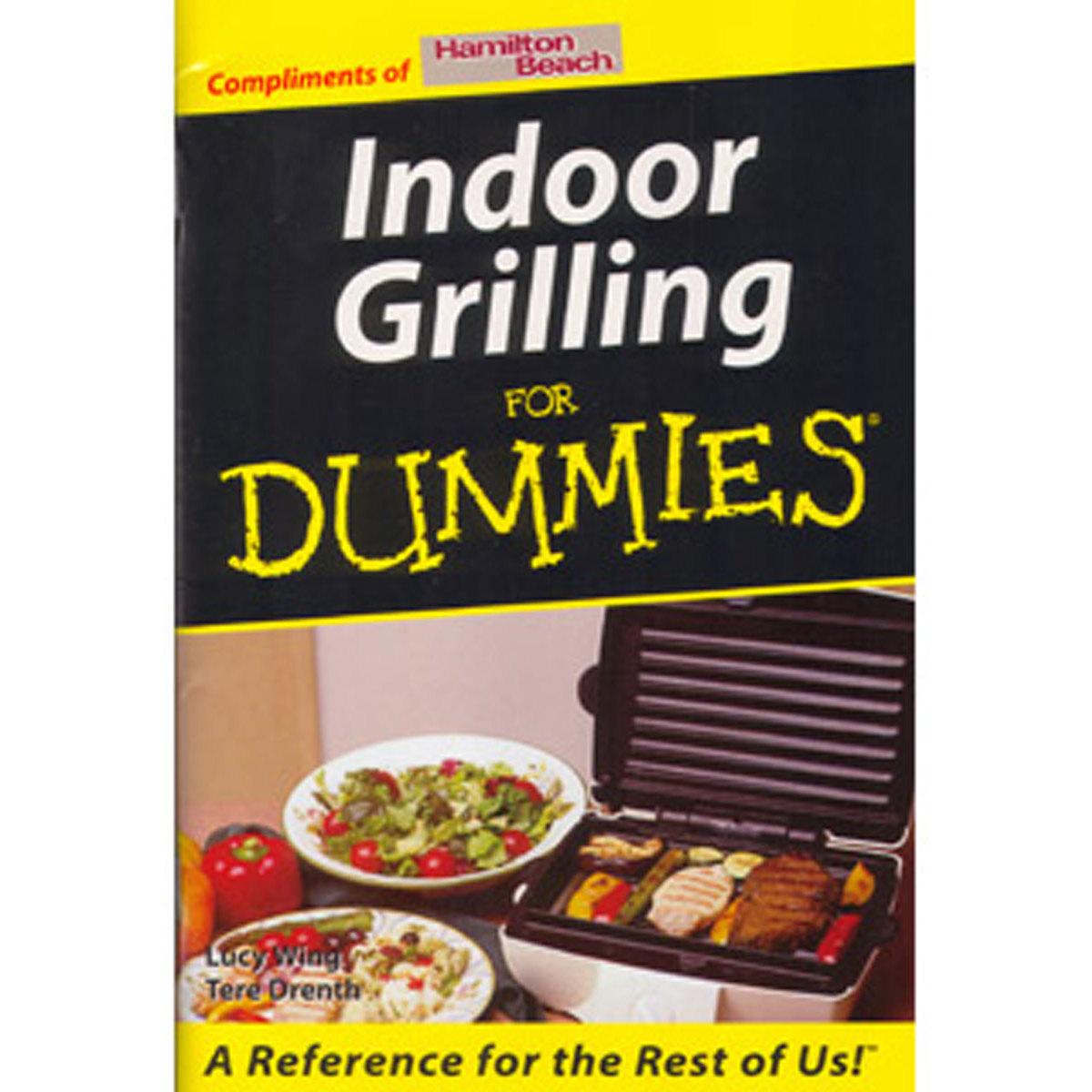 Indoor Grilling for Dummies Book (D426)