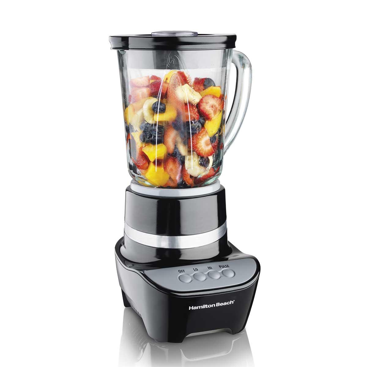 Wave Maker® Blender with 48oz Glass Jar, 700W Black (53205)