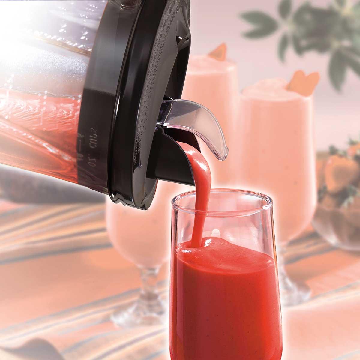 Hamilton Beach Power Elite Multi Function Blender With Mess Free 40oz Glass Jar 700w Black Stainless 58148