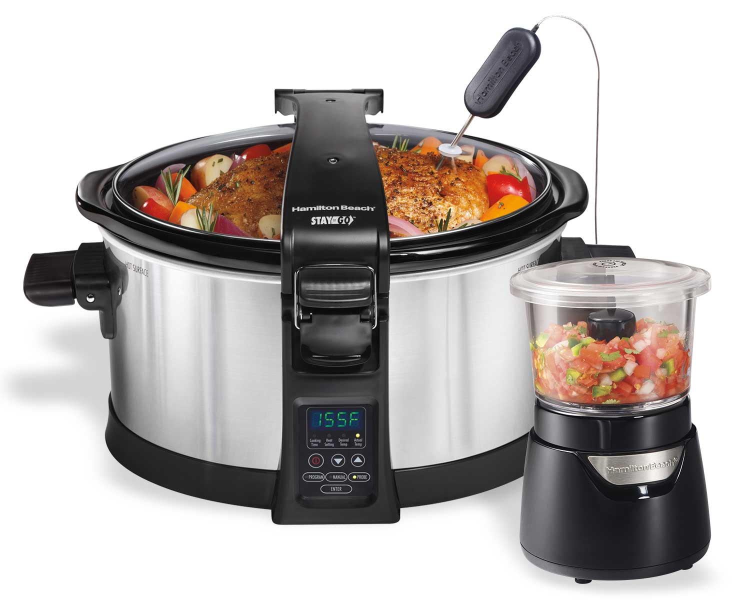 Chop & Cook Bundle w/ Slow Cooker.