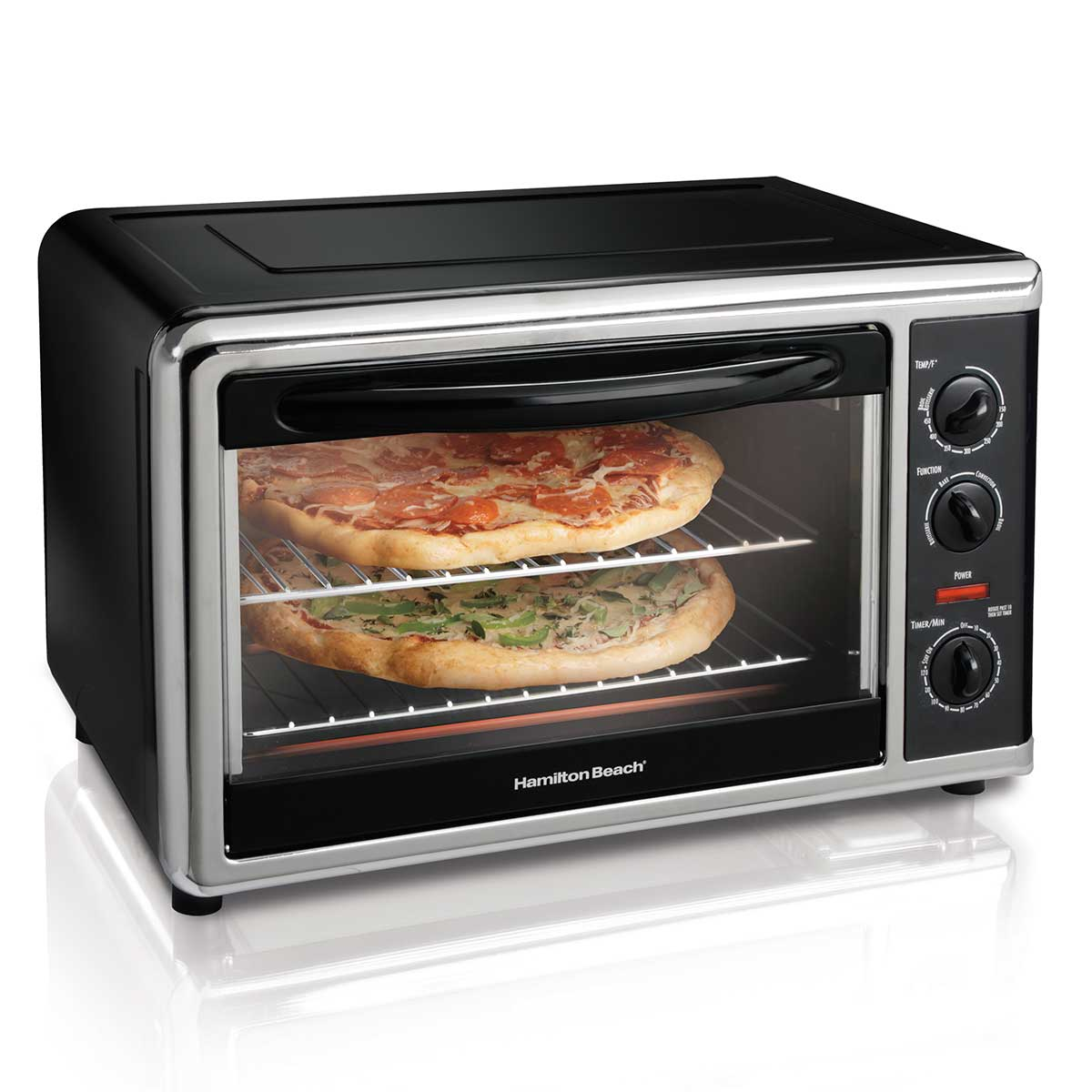 Countertop Oven Black 31100 Hamiltonbeach Com