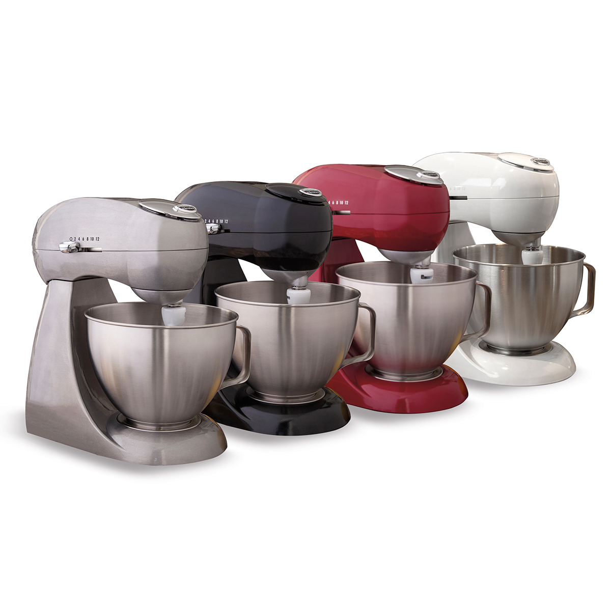 Eclectrics® Sterling All-Metal Stand Mixer (63220)