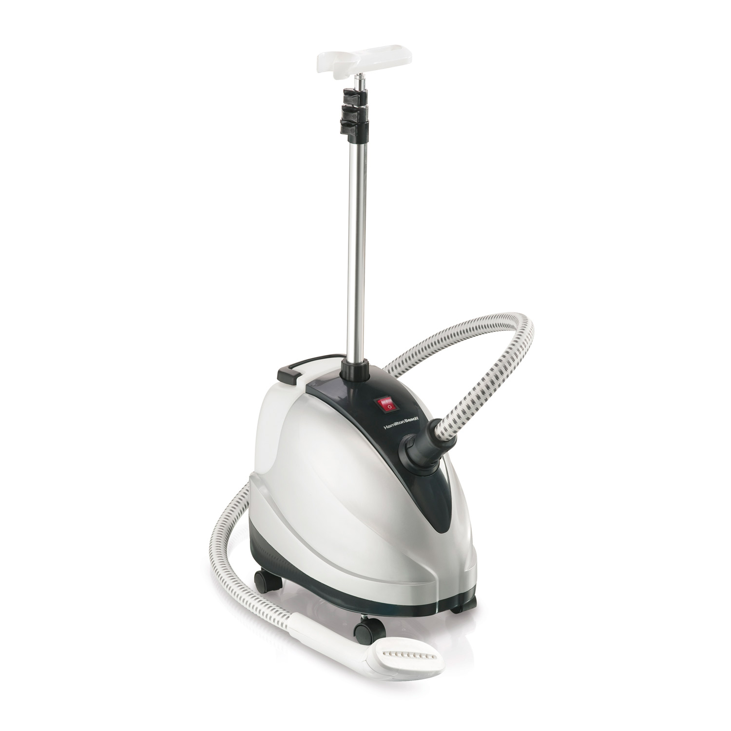 Spend less on dry cleaning with the Full-Size Garment Steamer