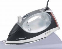 Electronic Control Nonstick Light-up Retractable Cord Iron (14885)