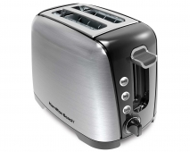 Brushed Chrome 2 Slice Toaster (22570E)