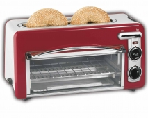 Toastation® Toaster & Oven - Red (22703H)