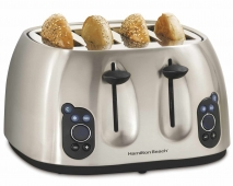 Digital Metal 4 Slice Toaster (24502)