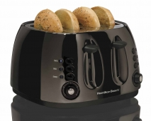 Black Ice™ Metal Collection 4 Slice Toaster (24514)