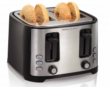 Extra-Wide Slot 4-Slice Toaster (24633)