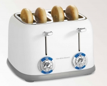 4 Slice Bagel Toaster - Rounded (24635)