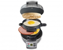 Breakfast Sandwich Maker with Timer (25478)