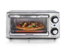Stainless Steel 4 Slice Toaster Oven (31138)