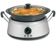 3-in-One Slow Cooker - Black/Stainless (33135)