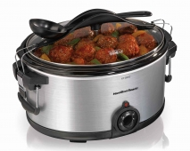 Stay or Go® 6 Qt. Deluxe Slow Cooker (33165)