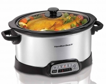 Programmable 5 Quart Slow Cooker (33453)