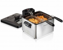 19 Cup Oil Capacity Professional-Style Deep Fryer (35036)